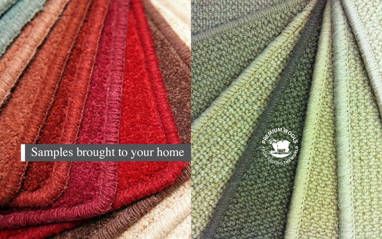 S Paul Carpets samples-brought-to-your-home
