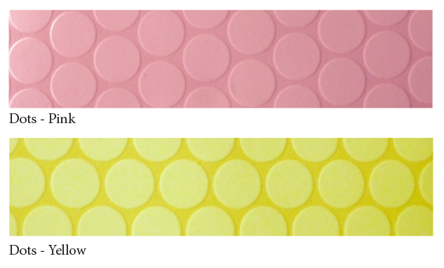 Bubblegum--dots-yell+pink