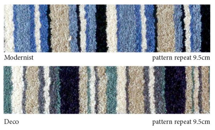 Contemporary Stripe – Modernist/Deco