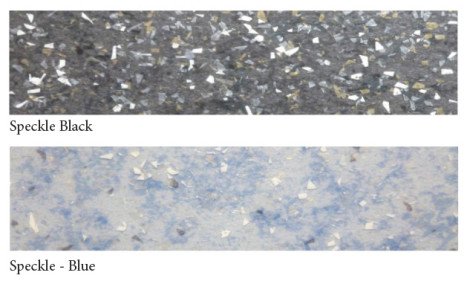 Vinylmosaic-speckle+Blueblack