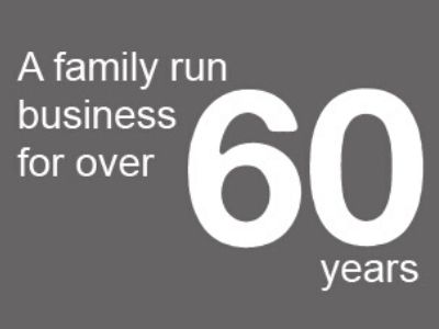 A family run business for over 60 years